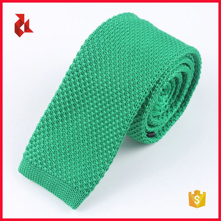 Factory Colorful Solid Design Custom Knit Ties