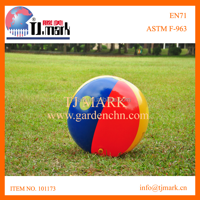 INFLATABLE BIG BALL SPRINKLER GAME
