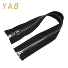 YAB Trade Assurance 15# Custom Price Silver Jeans Pants Garment Metal Teeth Zipper