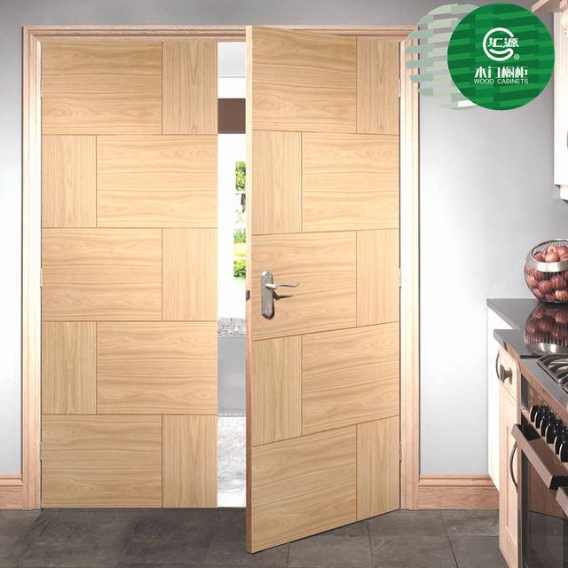 Best Sale Melamine Modern Design Double Swing Interior Closet Doors