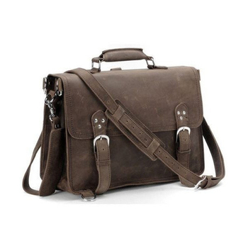 aa4173022b7e Handcrafted Full Grain Distressed Leather Laptop Briefcase Men s Stylish Messenger  Bag