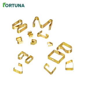 China Custom Fabrication Gold Plated Electrical Contact