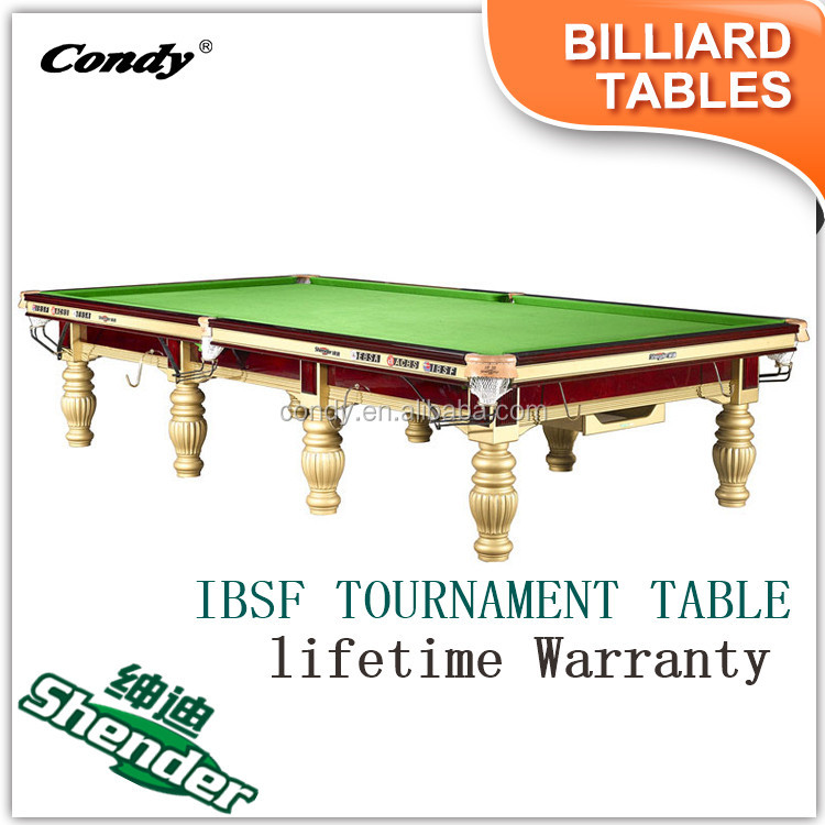 Shender OEM welcome Snooker Table for sale, Russian billiard table at low price
