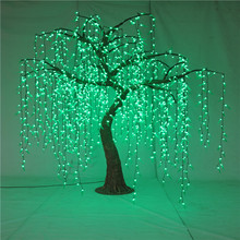 Galho de Árvore Natural Led Lighted Artificiais Weeping Willow
