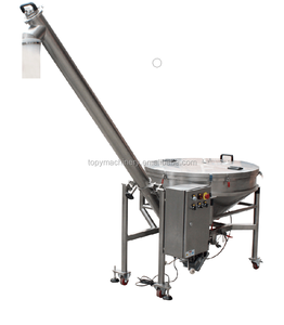Inclined lifting screw conveyor price for soya fish meal beer yeast spice powder TOPY-SC1