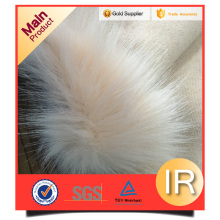 long pile faux fur manufacturer roll long fabric
