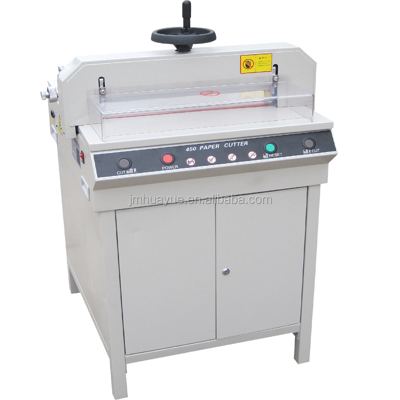 manual pressing and electric motor 450 Paper Cutter