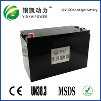 Home solar system, UPS,EV 12v 100Ah lifepo4 battery pack with 2000 cycles