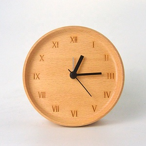 Wooden Digital Alarm Clock Desk Alarm Clock For Hotel Alarm Clock For Kids