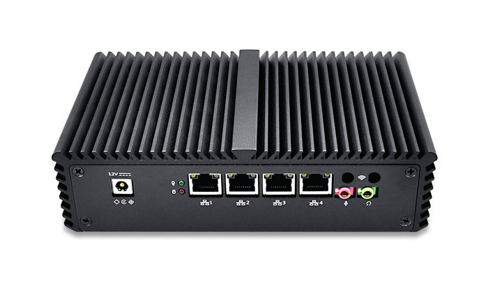 Best Selling Intel Core i7 4 Lan Mini PC Firewall