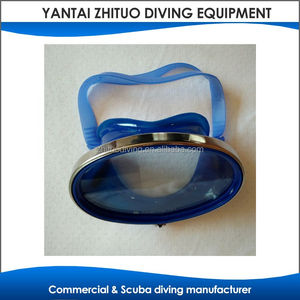 top grade good quality snorkeling frameless mask with nose