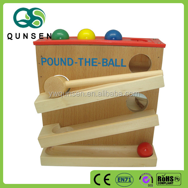 educational toy wooden ewooden puzzle ball