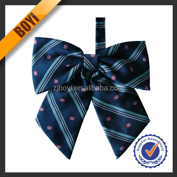 Charming Colorful Handmade Girls Large Bow Ties