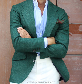 2015 top men s suit formal wear with fabric 2015 attractive wasabi