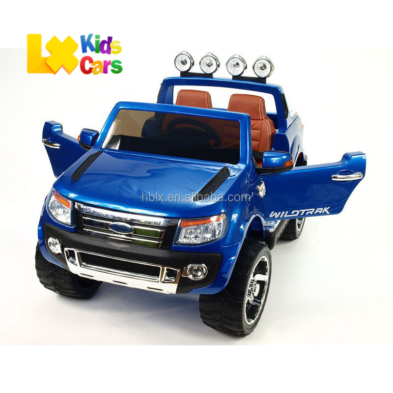 Hot sale FORD RANGER kids Ride on Car 2.4G R/C electric car 12V battery two motors kids baby car