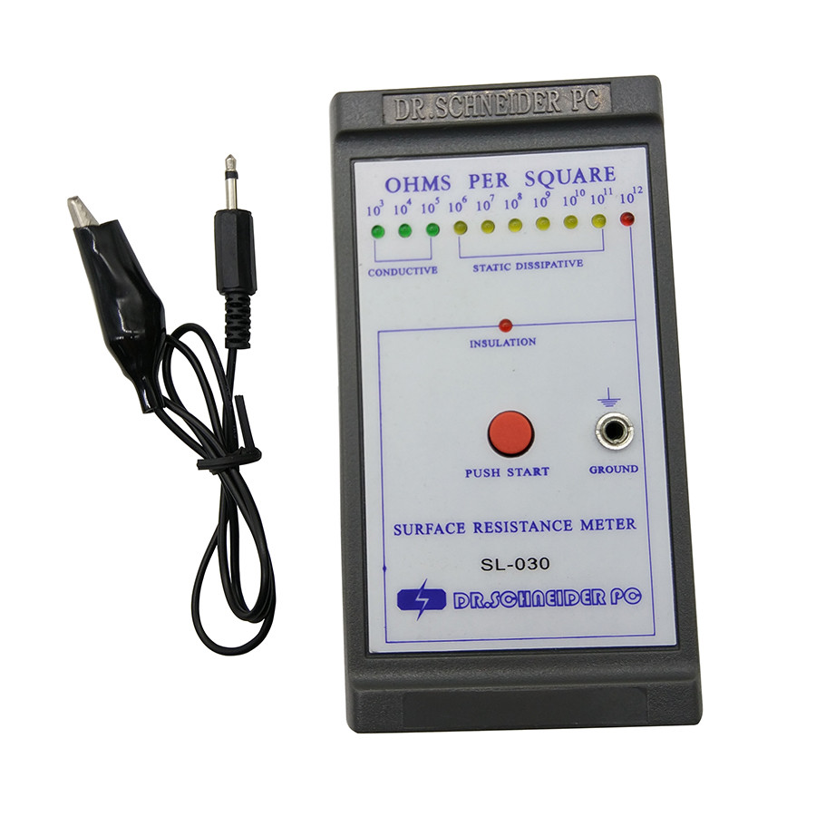 Surface Resistance Meter : Sl esd surface earth resistivity meter electric