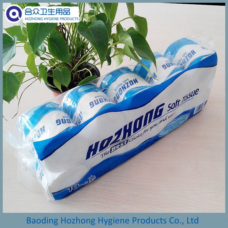 Hot Selling Biodegradable Bath Tissue Toilet Paper