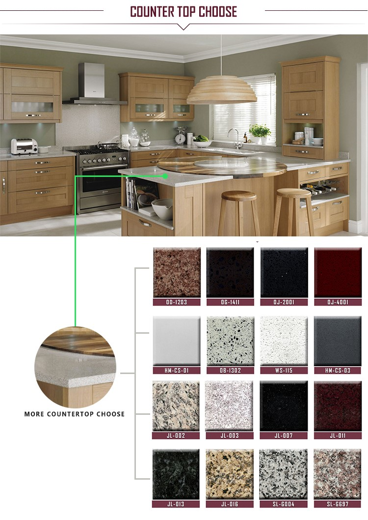 Modular Knock Down Laminate Commercial Kitchen Cabinets Prices In ...