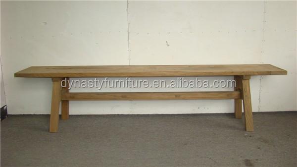 Simple Natural Antique Wooden Indoor Bench Seat Buy Bench