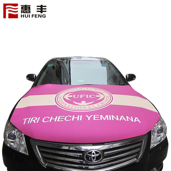 Wholesale Car Hood Cover With National Flags Of Different Countries