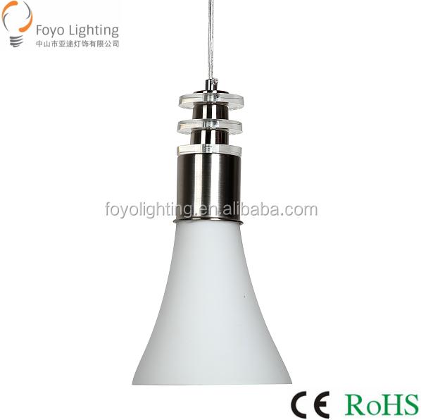 2016 Hot Selling White Glass Pendant Light E27 For Home Decorative ...