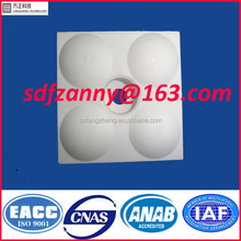 Wear & impact resistant alumina ceramic lining plate for hot sale