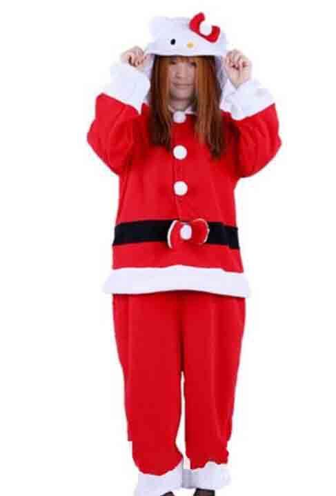 Get Quotations · New Adult Animal Santa Claus Cat Men s Sleep   Lounge Pajamas  Onesie Sleepwear Onesie 02 57bb14320