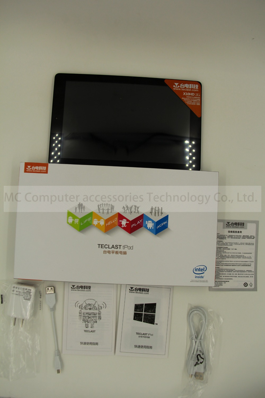 Newest10.1 Inch Teclast X10HD 3G Dual System  Z3736F 2.16GHz Tablet PC