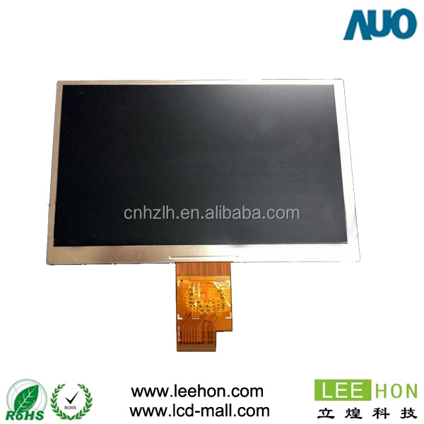 "AUO 7 "" tft lcd screen A070STN01 V1 high resolution 1024x600"