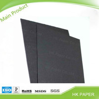 China paper suppliers carbon black core paper