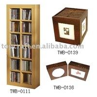 Wooden CD Racks