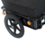Folding Utility Luggage Carrier Inflatable Wheels Bicycle Cargo Trailer Bike