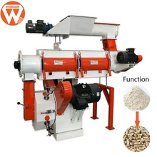 Machine de pelletiseur de moulin d'alimentation de volaille personnalisable SZLH250 1-2 t/h de strong win pour <span class=keywords><strong>l</strong></span>'<span class=keywords><strong>alimentation animale</strong></span>