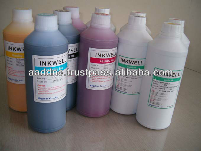 Eco solvent ink for Epson, Mutoh, Mimaki, Roland Korea top quality