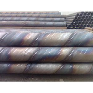 api 5l psl1 ssaw / spirally submerged arc welding thick walled fbe coated spiral steel pipe