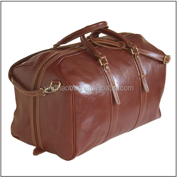 Italy Leather Handbags Travel Bag Men Genuine Leather Brand Name ...