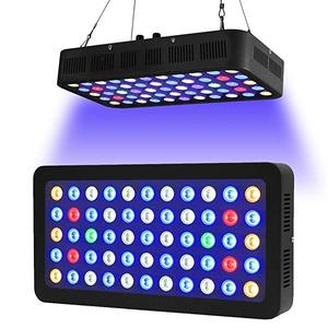 Dimmable Led Aquarium Lamp 165W LED Grow Light Growth Lamp Full Spectrum Plant Lamp Coral Reef