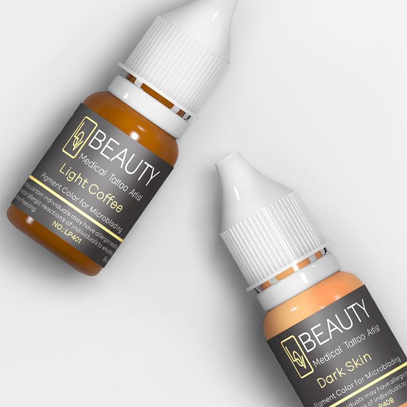 Lovbeauty Best Organic Cream Pigment Eyebrow Microblading Tattoo Ink Permanent Makeup Pigment