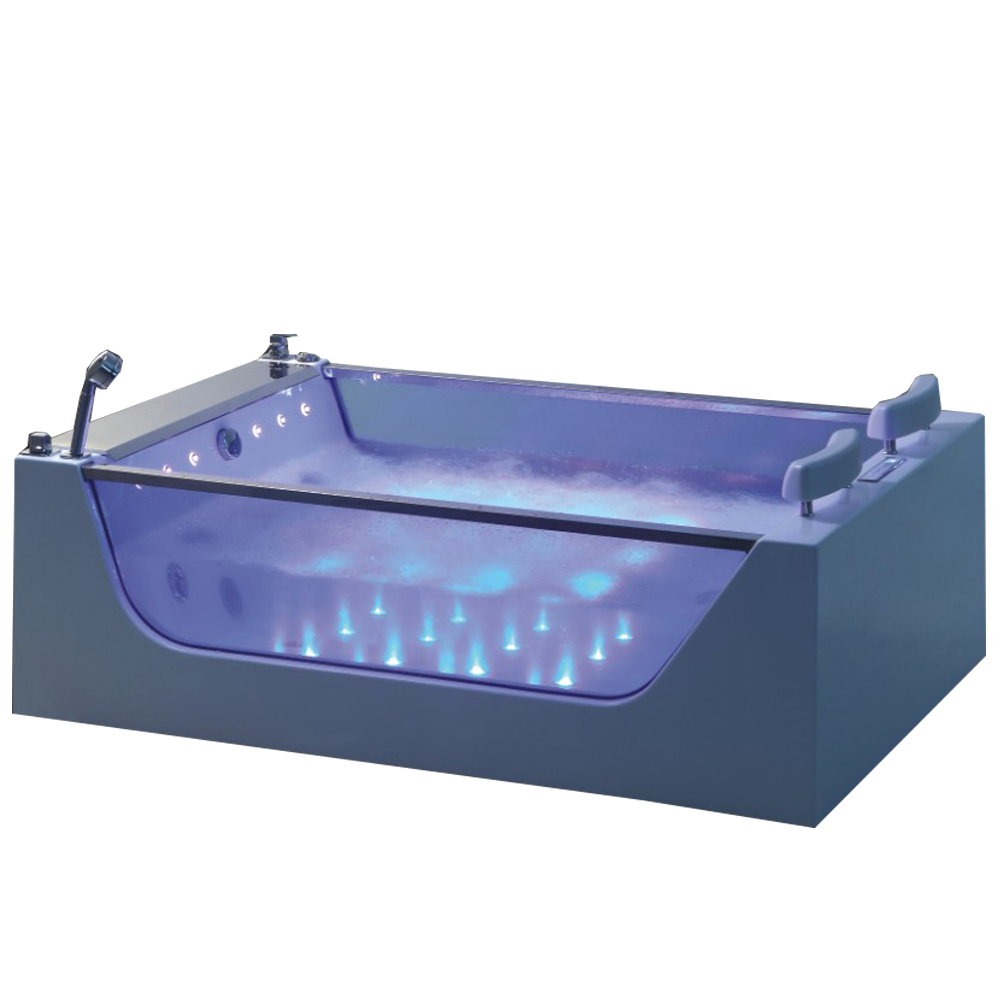 Hydro Bath Massage Tubs Onyx Tub Tempered Glass Side Surround Hs ...
