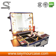 OEM Welcomed Leather Cosmetic Case Makeup Case Variety