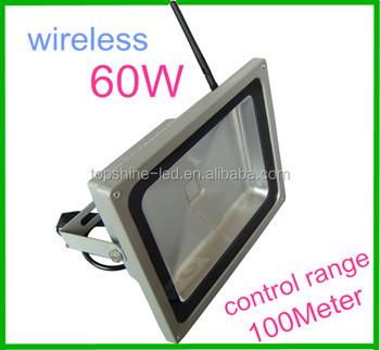 Outdoor Rf Control Rgb Led Flood Light,100m Synchronous Control ...