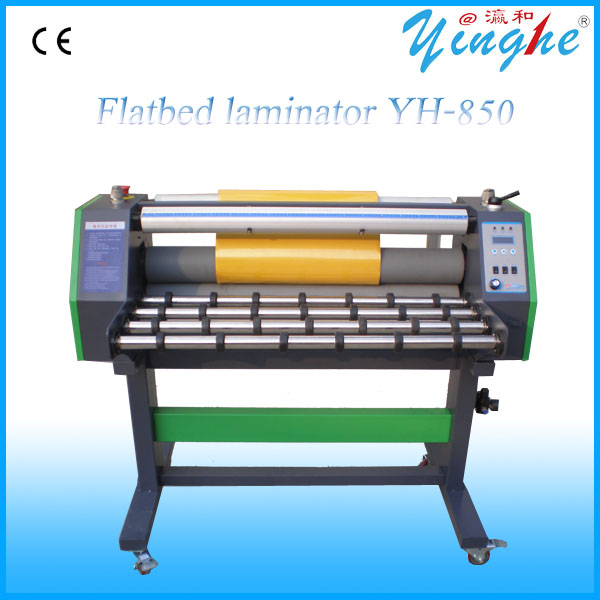 Automatic film laminating machine for PVC sheet, acrylic, ceramic tile, glass, doors