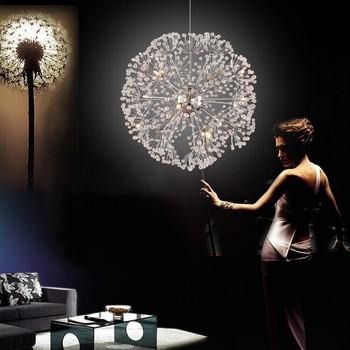 Crystal dandelion led pendant lamp view dandelion led pendant lamp crystal dandelion led pendant lamp audiocablefo