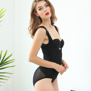 2019 Hot Women Full Zipper Bodysuit Shaper Shapewear Underwear Wholesale Waist Slimming Corset for Woman