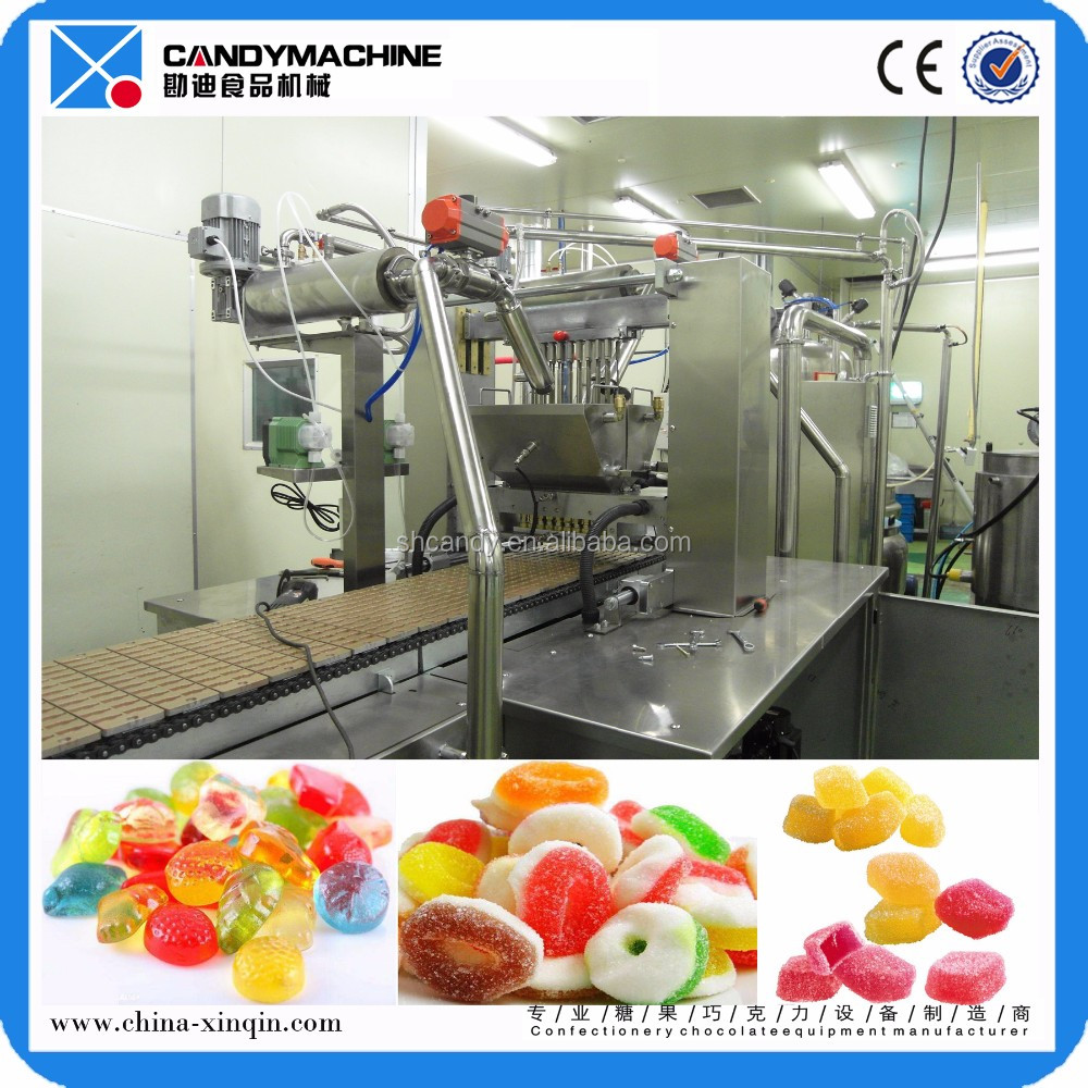 Shanghai Gelatin Gummy Making Machine/jelly Candy Production Line