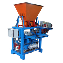 <span class=keywords><strong>Kleine</strong></span> Bouwmachines QMJ4-35C bestrating brick making machine/cement baksteen making machine