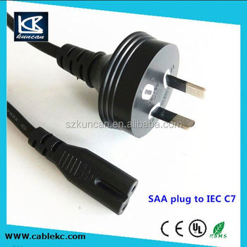 China Supplier Power Cord 2 Pin Male Ac Electrical Plug Australia ...
