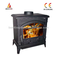 Iron Stove Home Heater 10kW