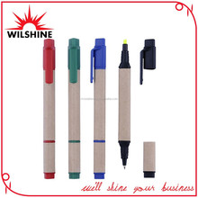 Promotion Ball Pen + Highlighter 2 in 1 Functions