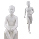 Mate white egg head teen child boy sporting display mannequin models kids movable on sale